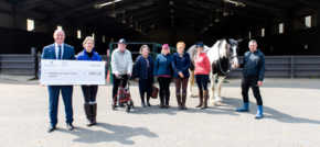 Riding high! Local housebuilder sponsors Leeds Equestrian Centre