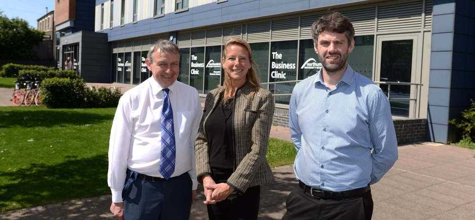 Innovative relationship strengthens Northumbria Uni's Business Clinic success