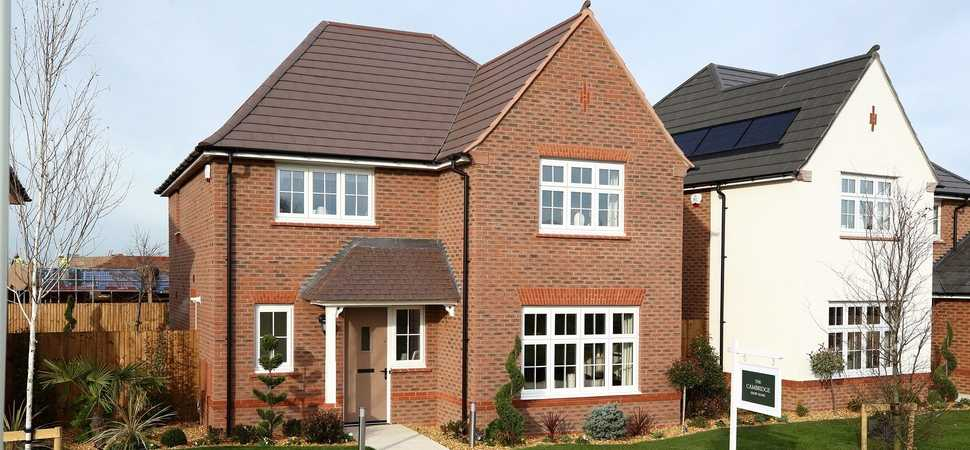 First look inside new showhomes in Derbyshire