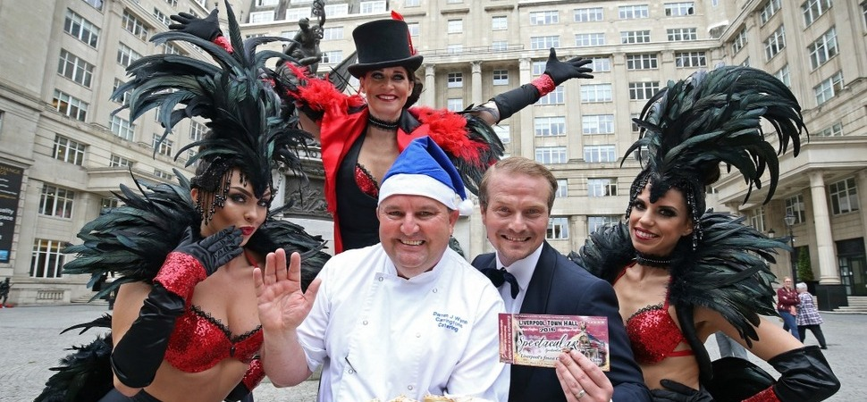 Christmas comes early at Liverpool Town Hall thanks to Carringtons Catering