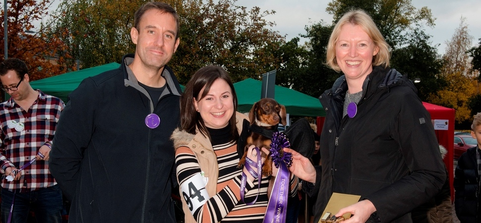 Together goes barking mad for St Ann's Hospice