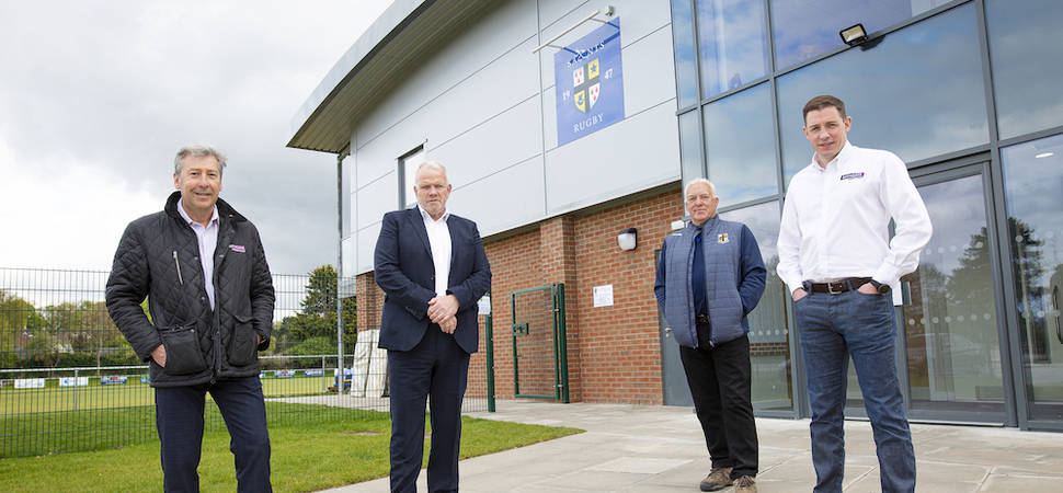 Anselmians RUFC clubhouse complete thanks to £100k funding brokered by Bathgate
