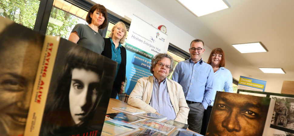 Enterprise Hub provides happy home for Bloodaxe Books business to thrive