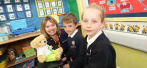 Primary school battles the bugs for International Infection Prevention Week