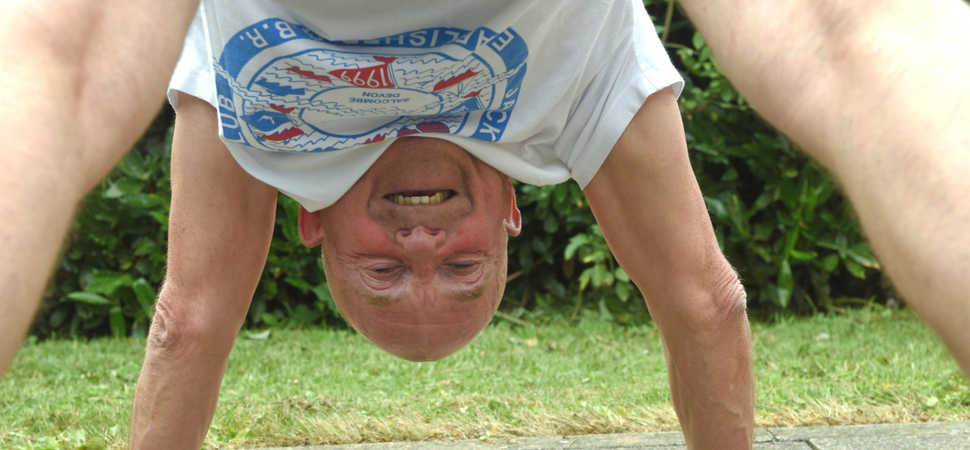 Double joint replacement op Grandad now enjoys yoga and walks 13,000 steps a day