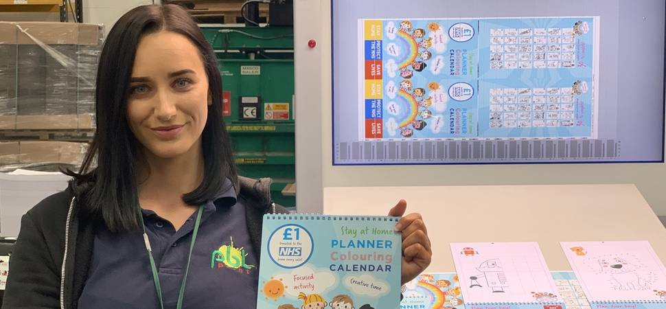 Colouring Book Draws NHS Funds