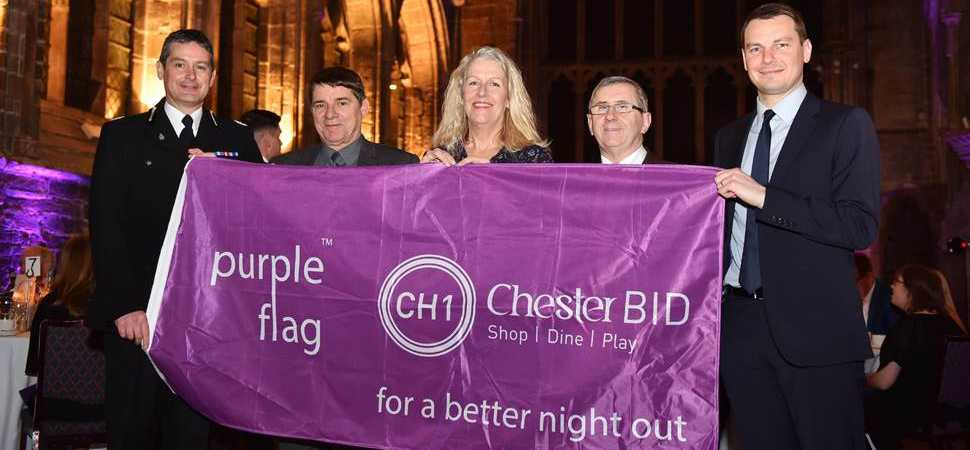 Chester granted prestigious Purple Flag status at national awards ceremony