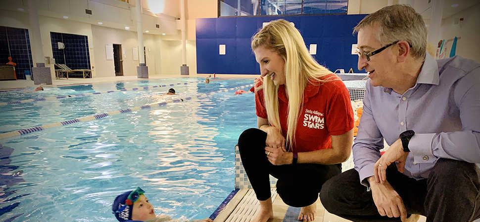 Four-time Olympic medallist Becky Adlington launches new swimming initiative in Newcastle with Nuffield Health