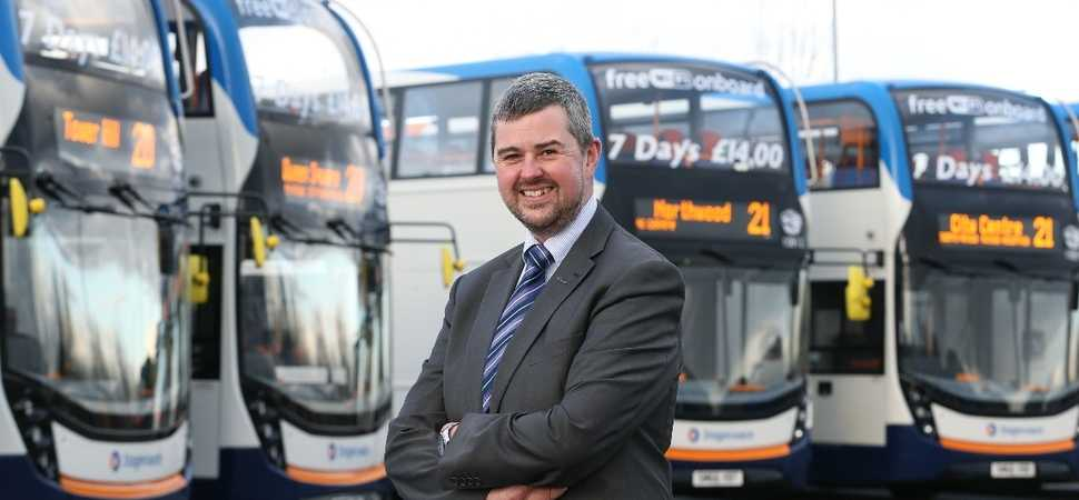 Stagecoach driving mental health awareness across the region