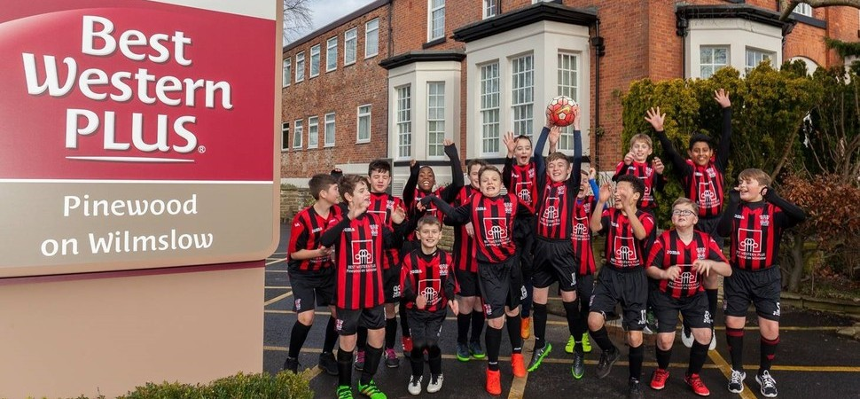 North West Youth Football Team Scores a Fourth Year of Hotel Sponsorship