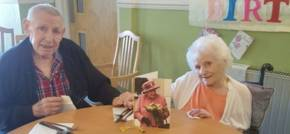 New Tredegar care home resident celebrates 105th birthday