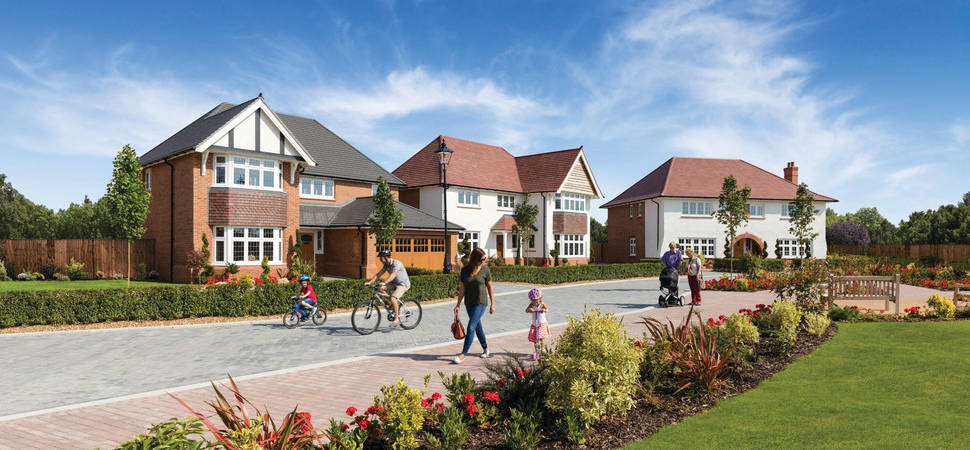 Housebuilder pushes forward with raft of launches