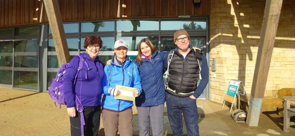 The Sill hits new milestone and welcomes 100,000th visitor to Northumberland
