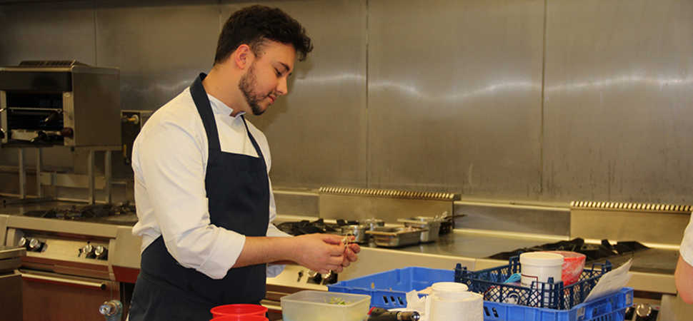Two talented chefs win Great North Menu Challenge 2018