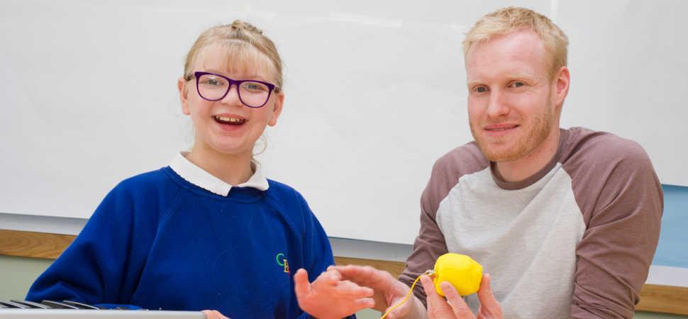 Teachers extra-curricular talents reaps musical rewards for SEND pupils