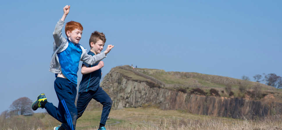 Walltown Warrior comes to Northumberland National Park