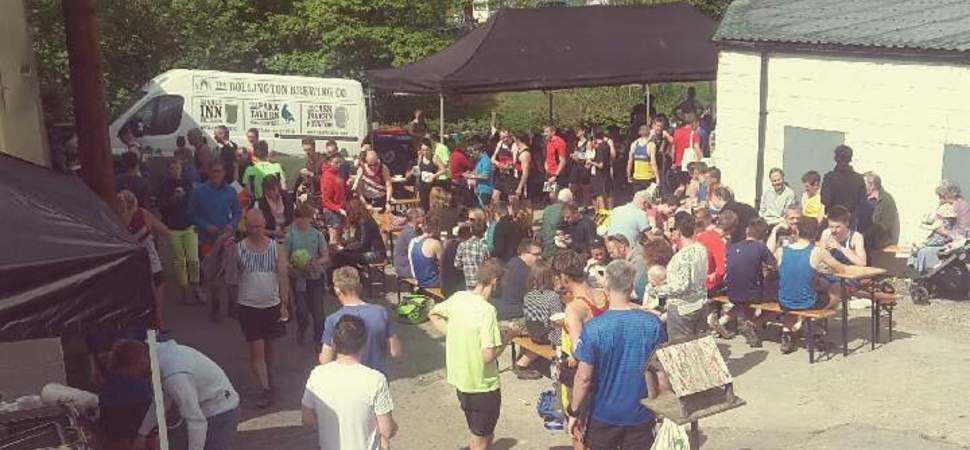 Runners sign up for Bollington Brewing Co's 10th anniversary 3 Peaks Fell Race