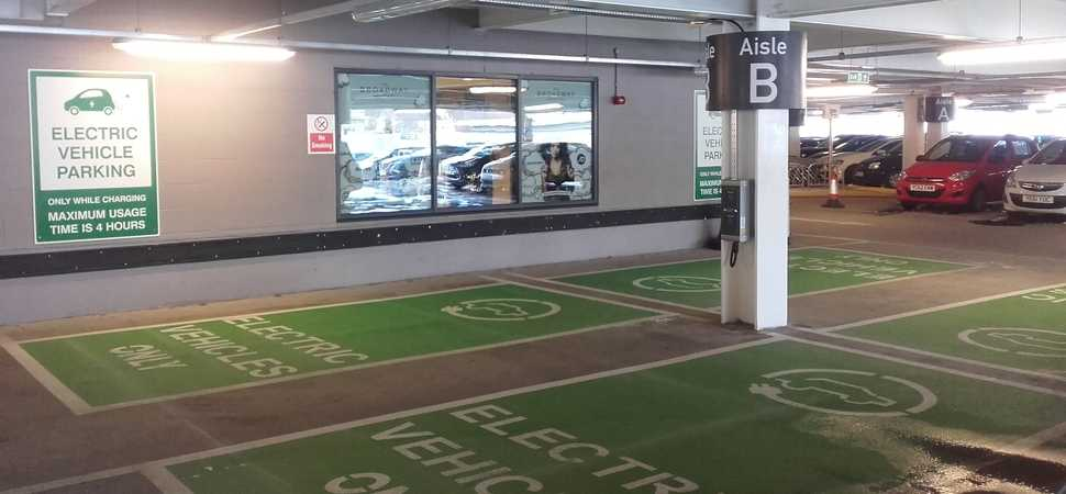 Broadway Shopping Centre Launches Sustainable Car Park Technology