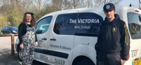 The Victoria shows support for local community