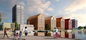 Planning approved for first housing development at Wirral Waters