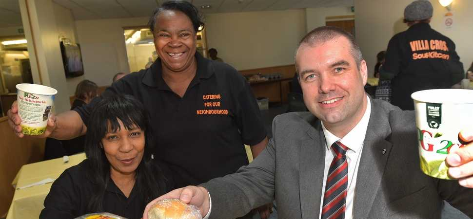 Bristol Street Motors Birmingham SEAT brings community funding boost for soup ki