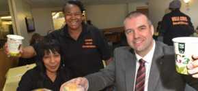Bristol Street Motors Birmingham SEAT brings community funding boost for soup ki