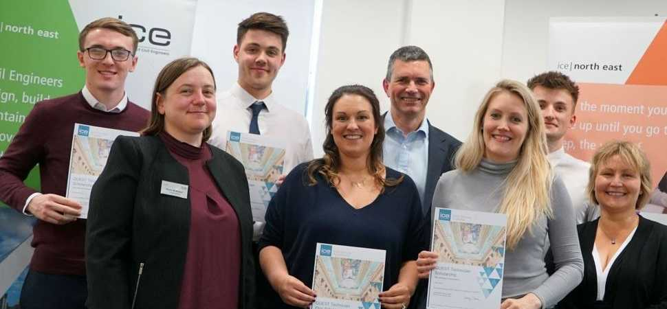 Young North East engineers on the road to success through award of quest scholar