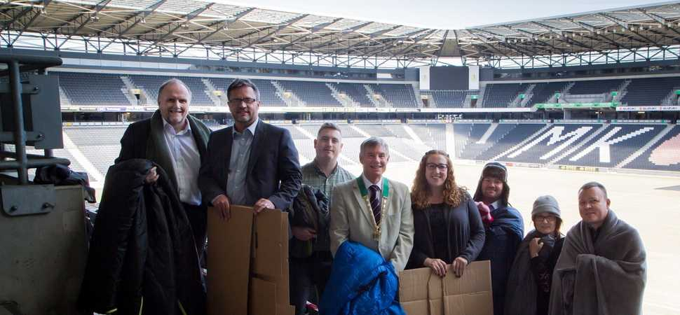 CEO Sleepout challenges Milton Keynes business leaders