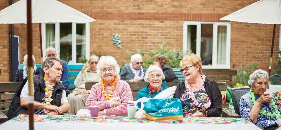 Downham Market care home enjoy a Sizzling Summer Open Day