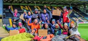 CEO Sleepout challenges Nottingham Business Leaders