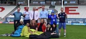 CEO Sleepout challenges Hull business leaders