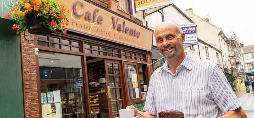 Darlington cafe owner swapping the main course for the golf course