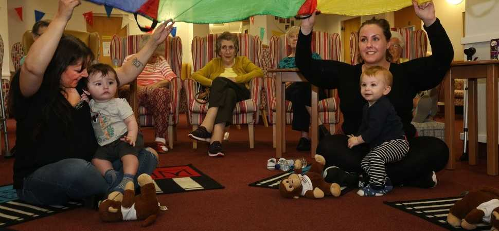 Care home making music that crosses generations.