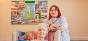 Manchester Care Home reaches out with Postcards of Kindness