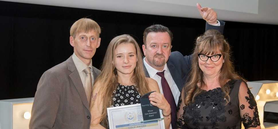 Exeter carers recognised with prestigious awards