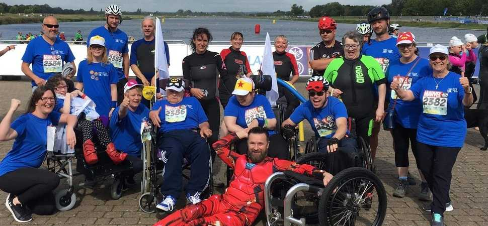 Hereford Superhero Tri participants have superpowers