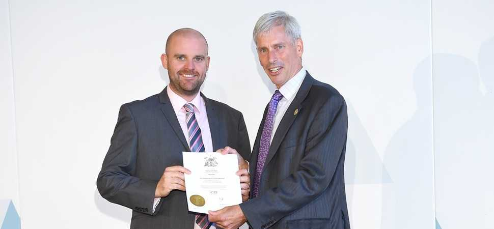 Leeds engineer achieves professional award