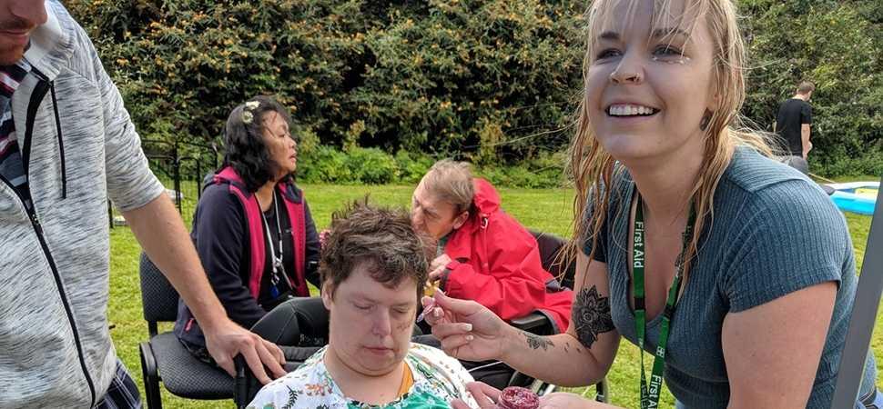 Coddington care home Greenfest raise more than £400 for homeless children