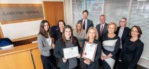 Solicitors STEP it up to make a perfect 10 for Latimer Hinks