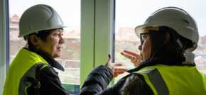 National Housing Federation Chair Visits Eastfield Regeneration Project