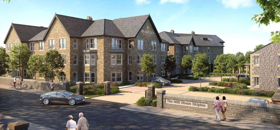 100 jobs for Skipton area as work starts on Hadrian Healthcare care development