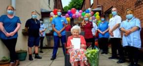 Norwich Care Home Centenarian Celebrates Milestone Birthday