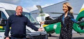 Air Ambulance Hopes Van Donation Will Help Drive Fundraising