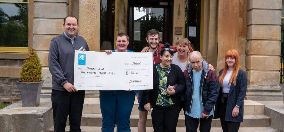 Boost for Deanston care service from local retailer