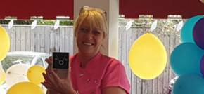 Care home worker celebrates 20 years service
