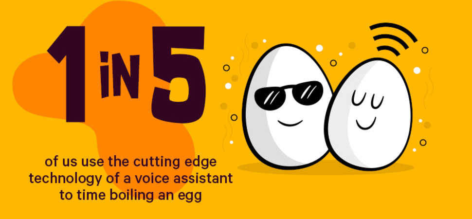 One in Five Uses Alexa to Boil an Egg...
