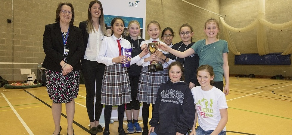 SES sponsors budding engineers at inspiring Hovercraft Challenge