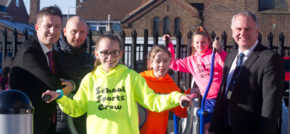 Primary school pupils take action against obesity crisis