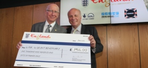 FA makes first 66 for 66 grant award to Sir Bobby Charltons charity