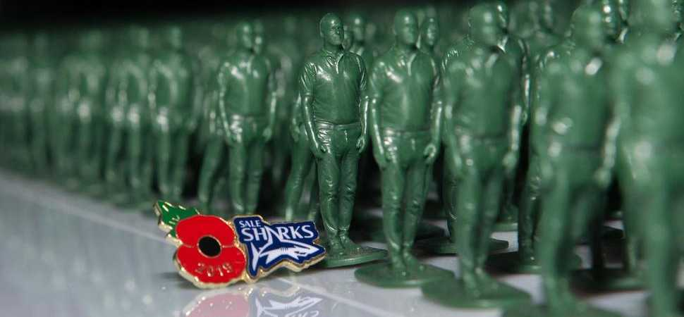 40,000 Strong help remember the fallen at the AJ Bell Stadium